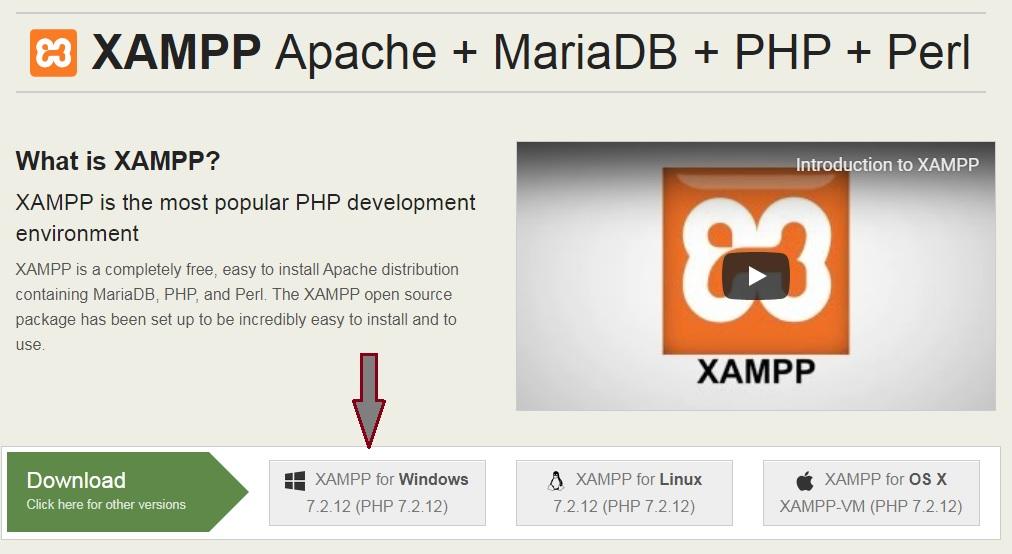 دانلود آخرین نسخه ی Xampp برای کامپیوتر