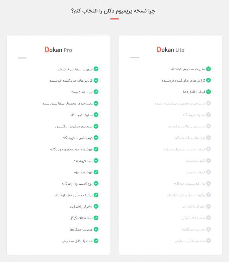 دکان پرو فارسی نسخه بیزینس